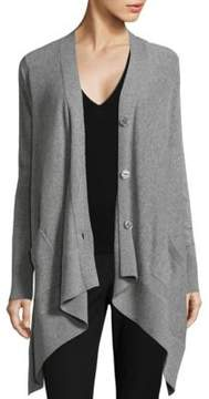 Donna Karan Long Sleeve Cardigan
