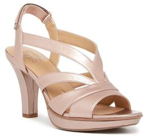 Naturalizer Delfinia Leather Heel Sandal