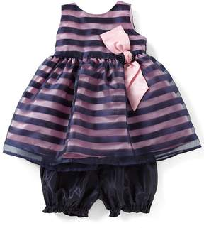 Jayne Copeland Baby Girls 12-24 Months Striped Dress