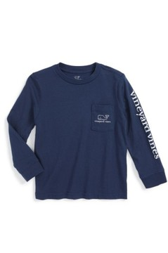 Vineyard Vines Toddler Boy's Vintage Whale Graphic Long Sleeve T-Shirt