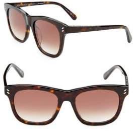 Stella McCartney Classic 52MM Wayfarer Sunglasses