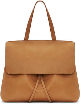 Mansur Gavriel Tan Leather Mini Lady Bag