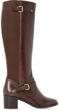Dune Vivvi leather knee-high boots