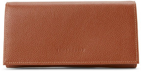 Longchamp Beige Le Foulonné Long Leather Wallet