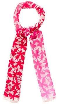 Diane von Furstenberg Silk-Blend Floral Scarf