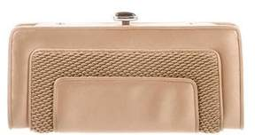 Judith Leiber Satin Box Clutch