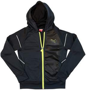 Puma Boys 4-7 French Terry Tech Full-Zip Hoodie