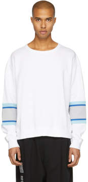 Facetasm White XXL Rib Sweatshirt