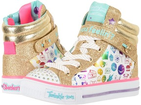 Skechers Shuffles 10828L Lights Girl's Shoes