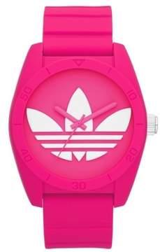 adidas Santiago Women's ADH6170 Pink Dial Silicone Strap Watch