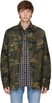 Amiri Green Camo M65 Jacket