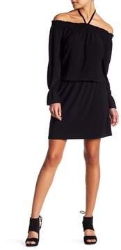 Laundry by Shelli Segal Off-The-Shoulder Peplum Dress (Petite)