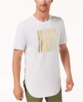 INC International Concepts I.n.c. Men's Gold Foil T-Shirt, Created for Macy's