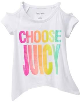 Juicy Couture Choose Juicy Cold-Shoulder Top (Big Girls)