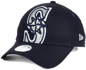 New Era Women's Seattle Mariners Glitter Glam 9FORTY Strapback Cap