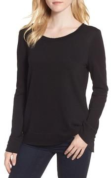 Chelsea28 Women's Ruffle Back Sweatshirt
