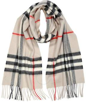 Burberry Heritage Stone Check Cashmere Scarf 3954673
