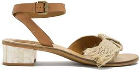 See by Chloe Knot-detail leather sandals