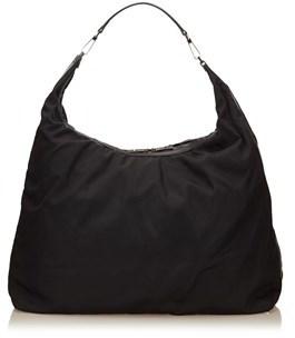 Gucci Pre-owned: Nylon Duffel Bag. - BLACK - STYLE