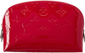 Louis Vuitton Pink Vernis Leather Cosmetic Pouch
