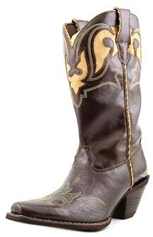 Durango Rd5523 Women Pointed Toe Leather Western Boot.