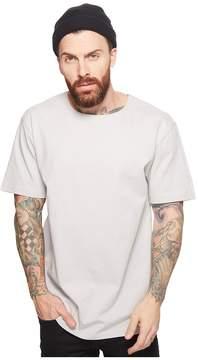 Publish Deven Premium Knit Short Sleeve Tee w/ Contrast Poplin Back Men's T Shirt