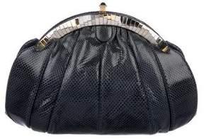 Judith Leiber Karung Frame Shoulder Bag