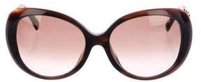 Emilio Pucci Tortoiseshell Round Sunglasses