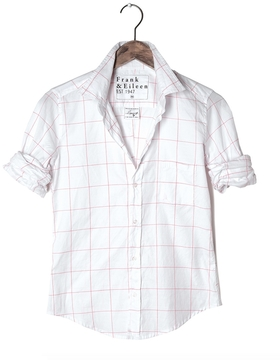 Frank And Eileen Womens Limited Edition Barry Windowpane Shirt