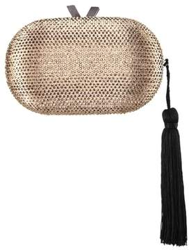 Nina Oval Minaudiere with Tassel