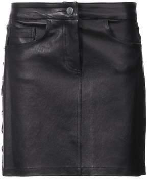 Amiri chain-detail mini skirt