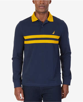 Nautica Men's Slim-Fit Stripe Polo