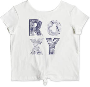 Roxy Sunshine Story Leaves Cotton T-Shirt, Big Girls