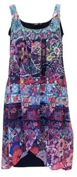 Desigual Women's Multicolor Polyester Dress.