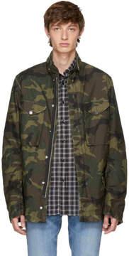 Amiri Green Camo M65 Jacket