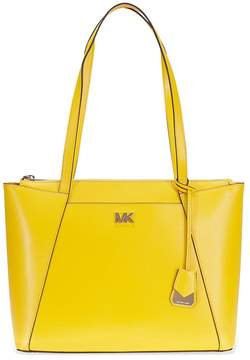 Michael Kors Maddie Medium Leather Tote- Sunflower - ONE COLOR - STYLE