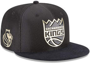 New Era Sacramento Kings On-Court Black Gold Collection 9FIFTY Snapback Cap
