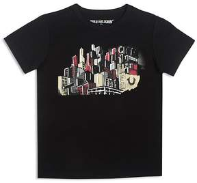 True Religion Boys' Graphic City Skyline Tee - Big Kid