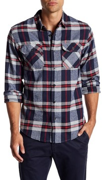 Burnside Plaid Regular Fit Flannel Shirt