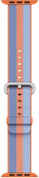 Apple Watch 38mm Orange Woven Nylon Band
