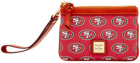 Dooney & Bourke San Francisco 49ers Exclusive Wristlet - RED - STYLE