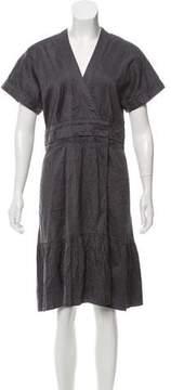 Calypso Silk Midi Dress