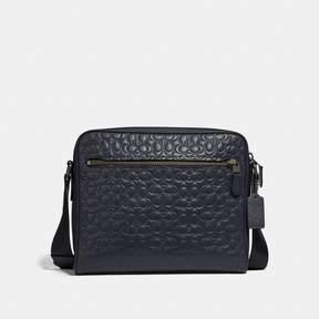 Coach Metropolitan Camera Bag In Signature Leather
