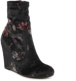 Report Women's Randi Velvet Wedge Bootie