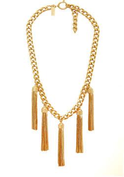 Rachel Zoe Hazel Multi-Tassel Mini Necklace