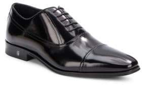 Versace Lace-Up Leather Dress Shoes
