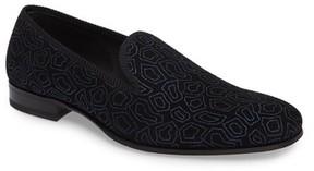 Mezlan Men's Camile Patterned Venetian Loafer