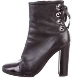 Proenza Schouler Lace-Up Cap-Toe Boots