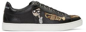 Dolce & Gabbana Black Sax Designers Sneakers