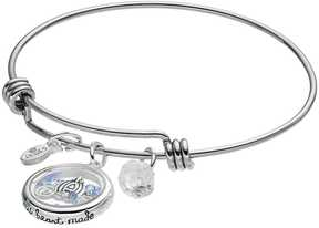 Disney Disney's Cinderella Crystal Floating Charm Bangle Bracelet